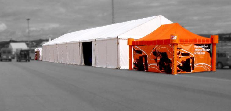Carpa Circuito Cheste (Valencia)