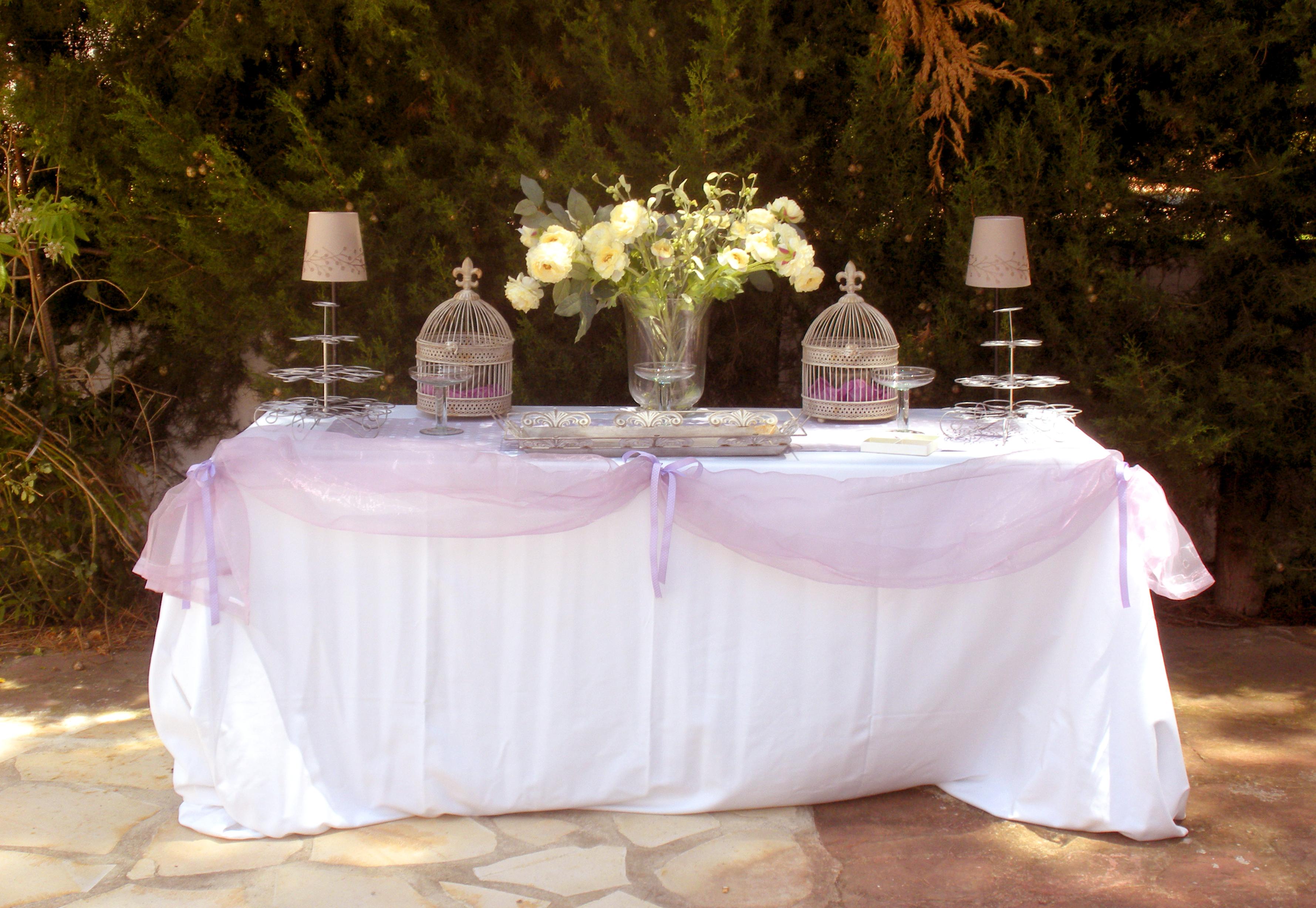 Mesa Vestida Para Eventos