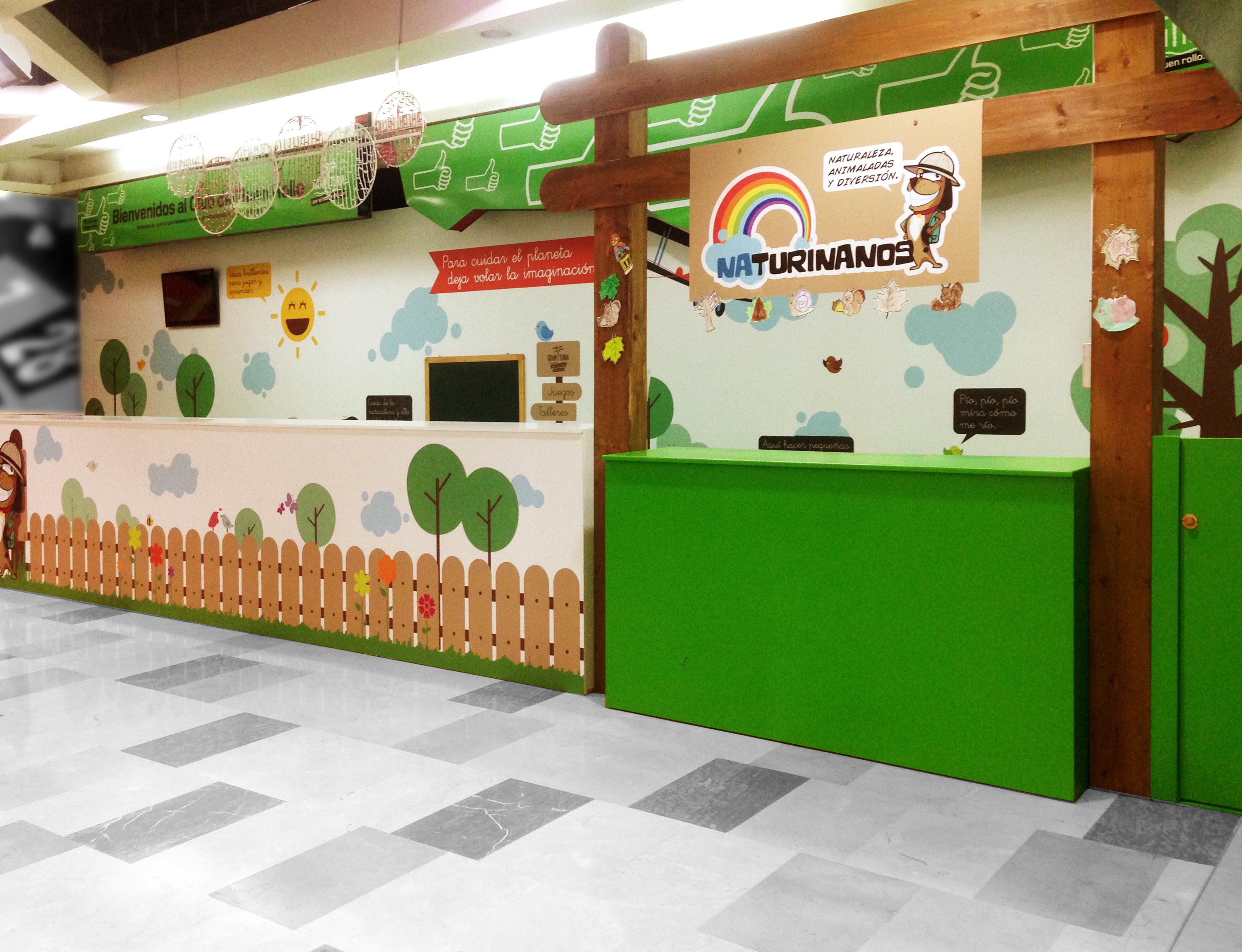 Montaje Zona Infantil Para Centro Comercial
