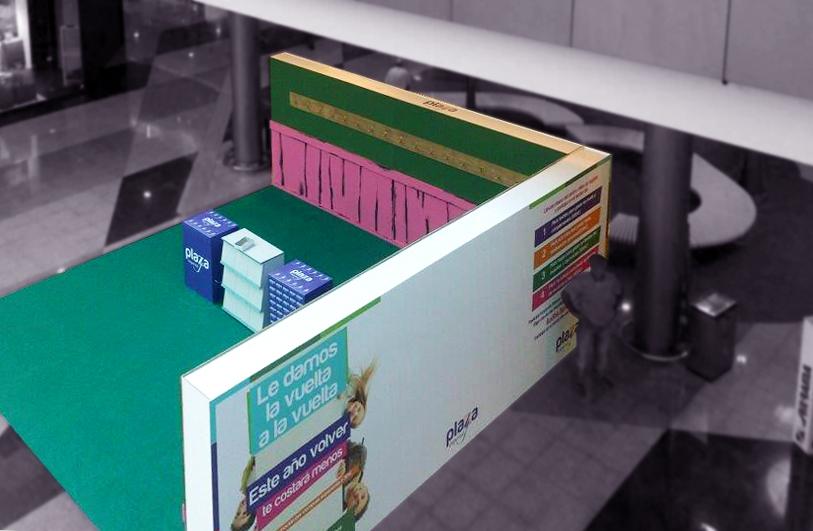 Montaje/stand Para Centro Comercial