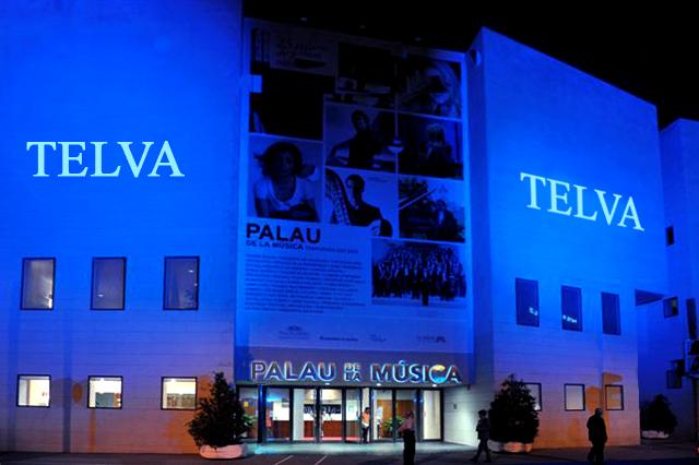 Telva 2011 Proyección en fachada
