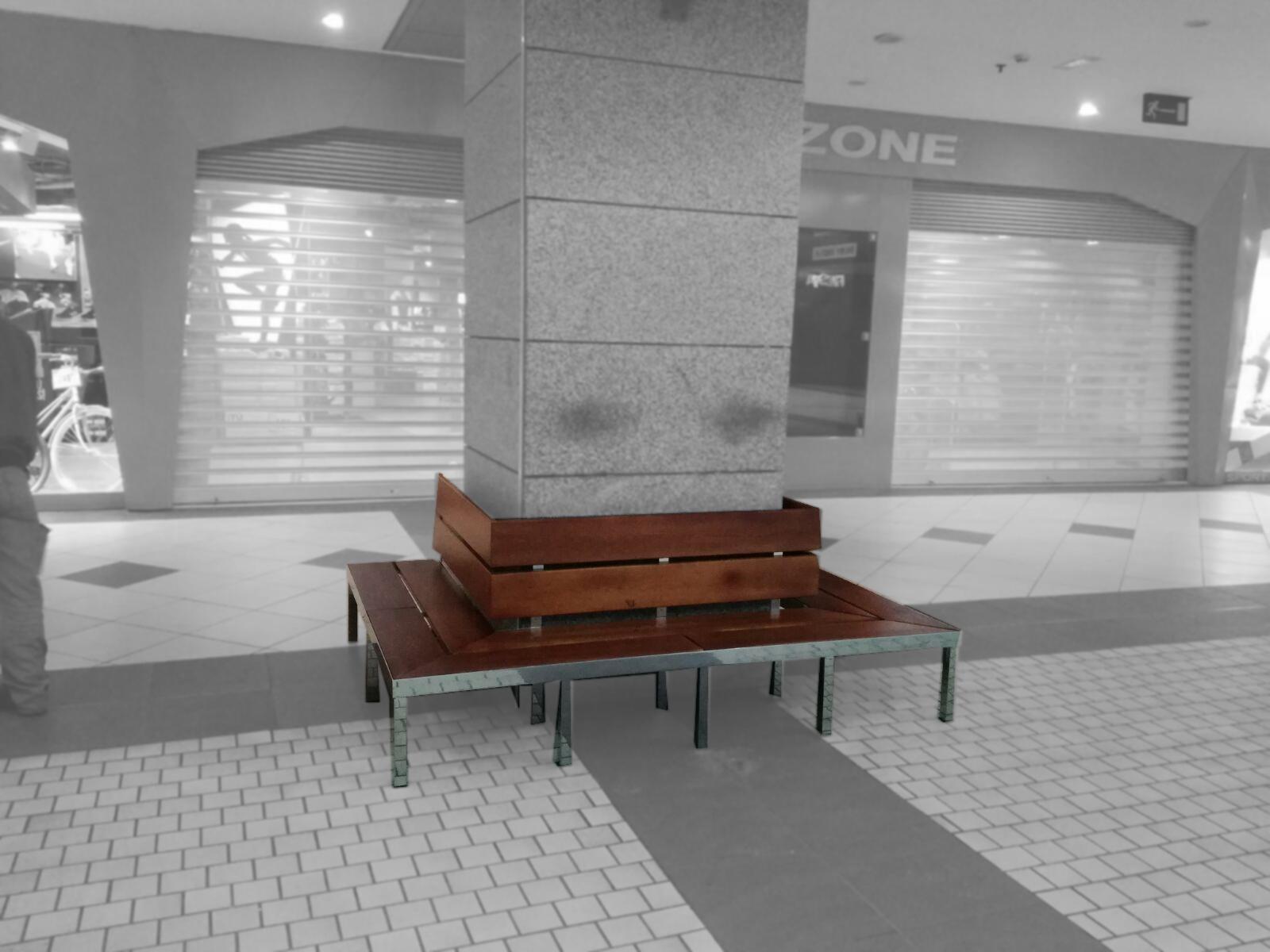 Mobiliario De Diseño Para Centro Comercial